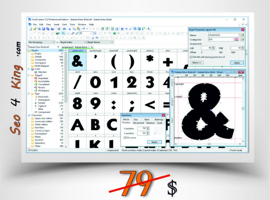 FontCreator Professional 10