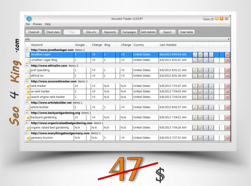 Accurank Tracker 2.0.0.86