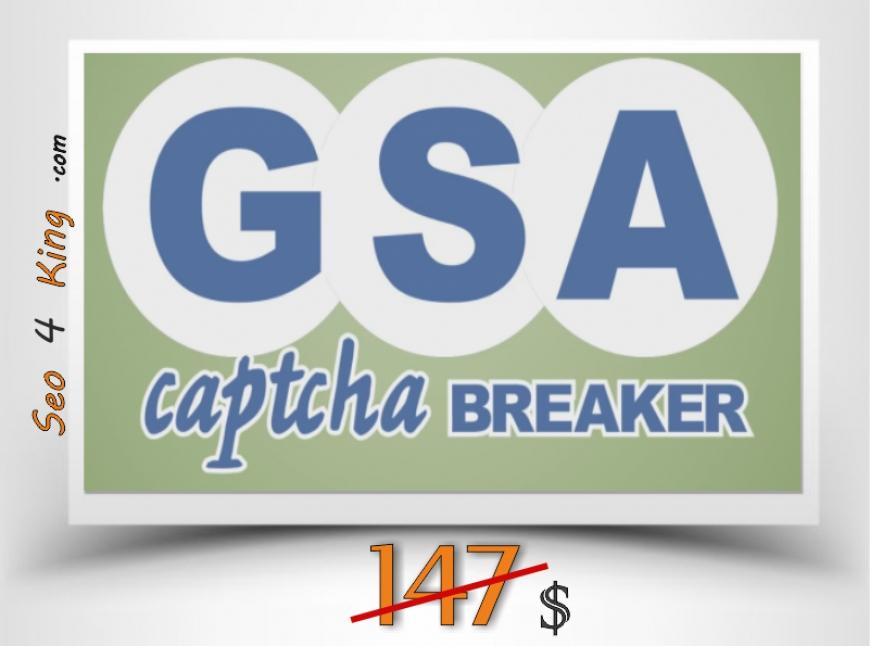 GSA Captcha Breaker 3.29