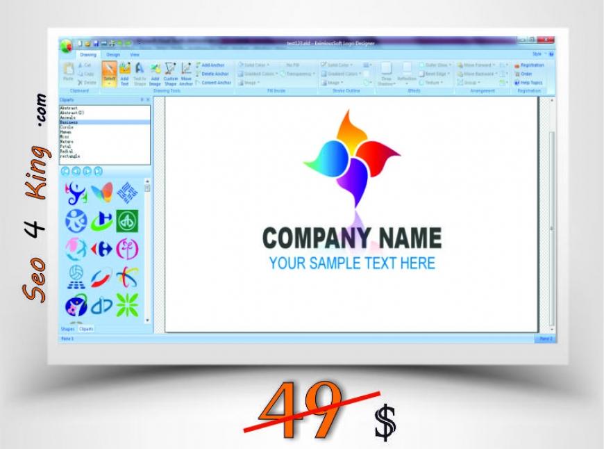 EximiousSoft Logo Designer 3.86