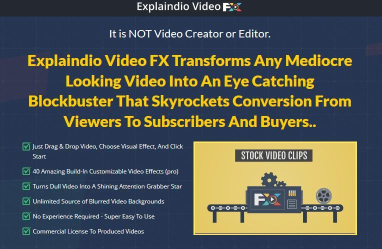 Explaindio video software